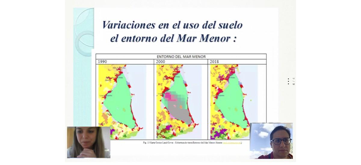 Un estudio cuantifica en casi 45 metros la regresión de la playa de la Ensenada del Esparto desde la construcción de Puerto Mayor