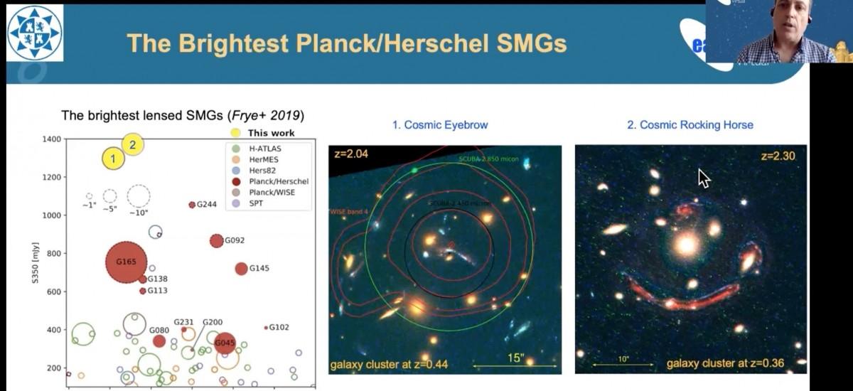 El investigador de la UPCT Anastasio Díaz da una charla sobre galaxias lejanas en el congreso de la Sociedad Europea de Astrofísica