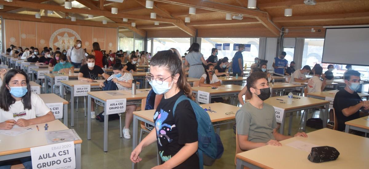 Más de 1.800 alumnos se enfrentan a la primera EBAU con distancia social