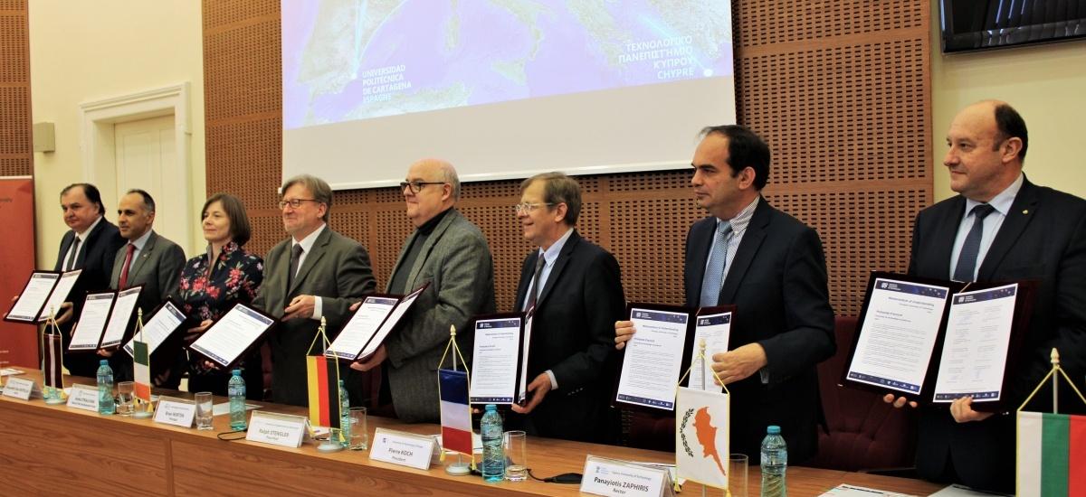 Cinco millones de euros de la UE para la primera Politécnica Europea formada por la UPCT y otras 7 universidades
