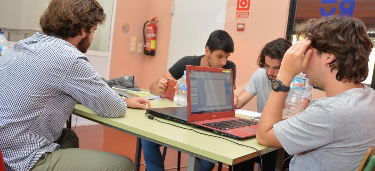 56 estudiantes se podrán beneficiar de las becas de alojamiento y manutención en la residencia de la UPCT