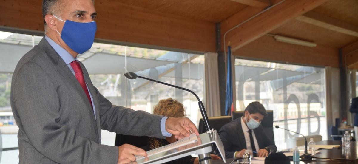 Alejandro Díaz, sobre su sucesora: «Sé de la capacidad de la rectora para hacer avanzar a la UPCT»