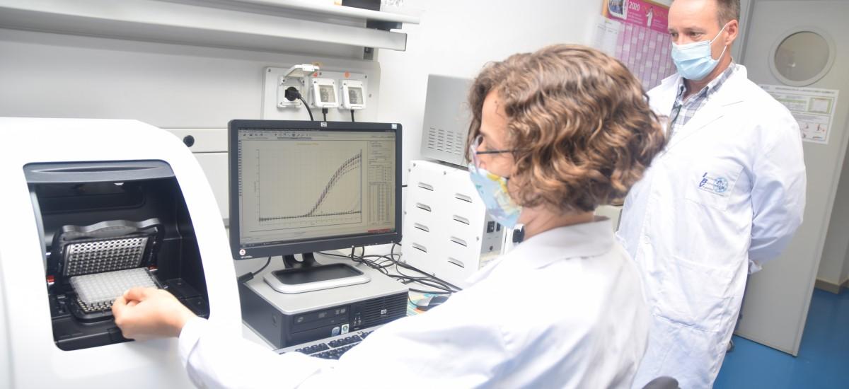 Test PCR para empresas en laboratorios del IBV