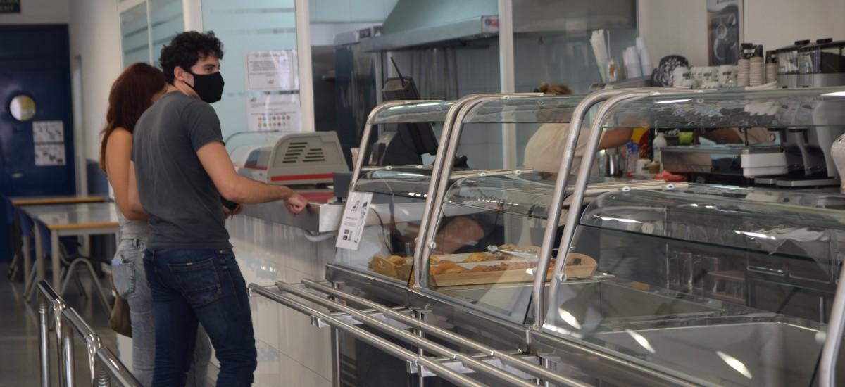 Se reanuda el servicio de cafeterías y comedores
