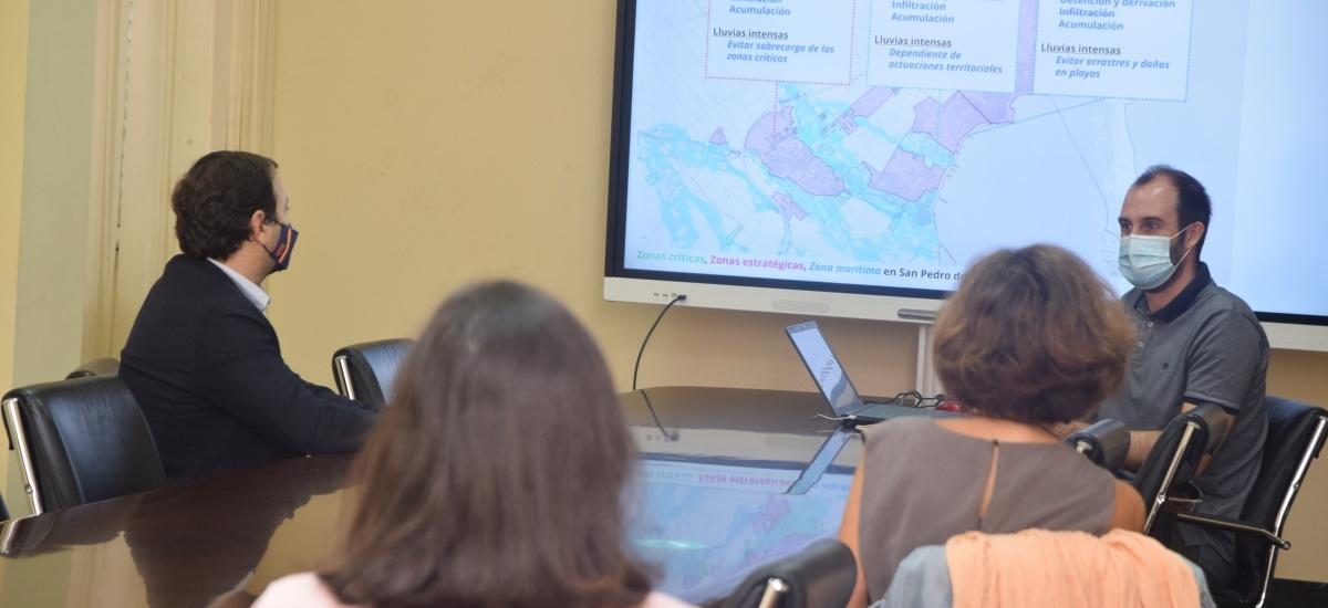 ¿Analizan soluciones para reducir el impacto de las inundaciones en los entornos urbanos del Mar Menor