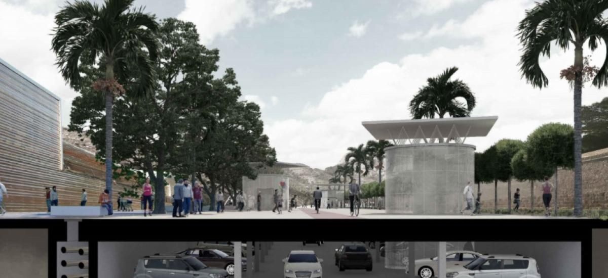 Los arquitectos de la UPCT mejoran Cartagena