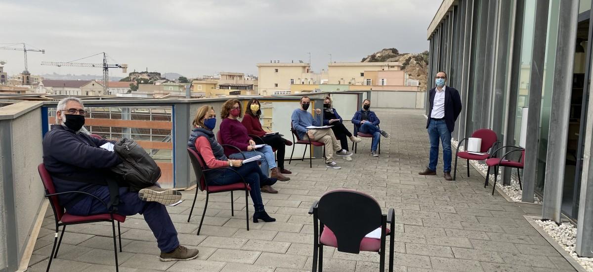 Reunión en el exterior para crear desde la UPCT la oficina de Relaciones Internacionales de la Universidad Europea de Tecnología