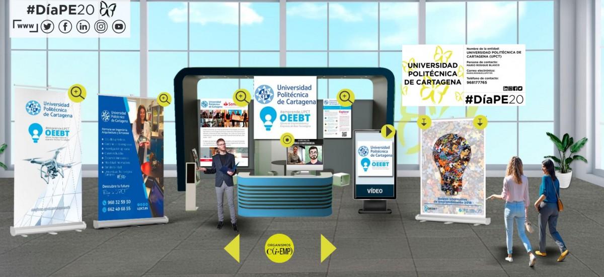 La UPCT explica sus programas de aceleración empresarial en las jornadas virtuales por el Día de la Persona Emprendedora