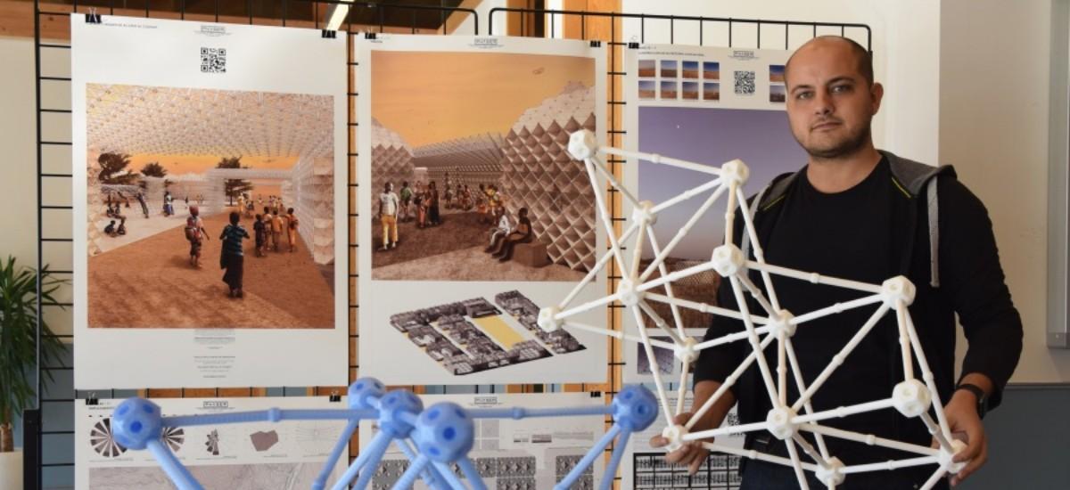 La Comunidad reconoce el proyecto de impresión 3D de un alumno de la UPCT en los premios de Desarrollo Sostenible