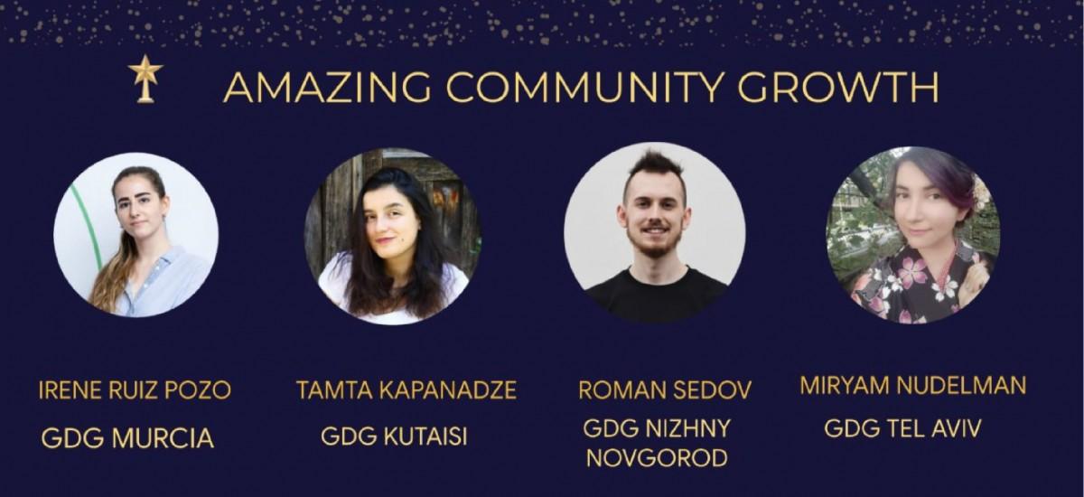Premio europeo a la fundadora del Developer Student Club UPCT