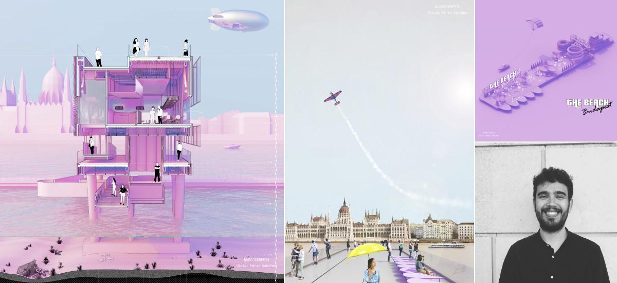 Mención internacional al proyecto de transporte y ocio en Budapest de un arquitecto por la UPCT