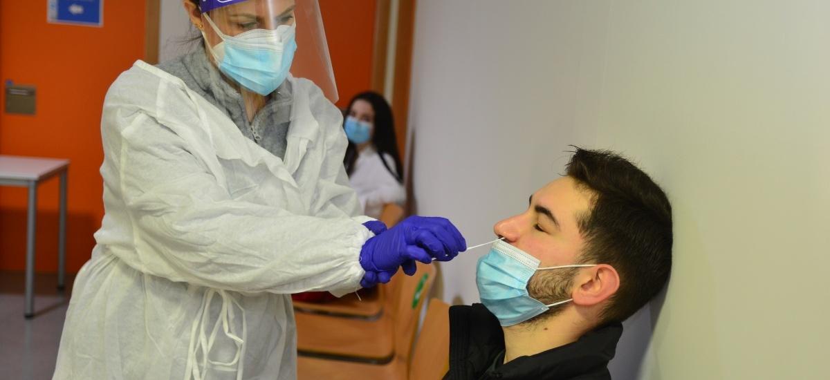 Negativos todos los test de antígenos a los estudiantes de la residencia
