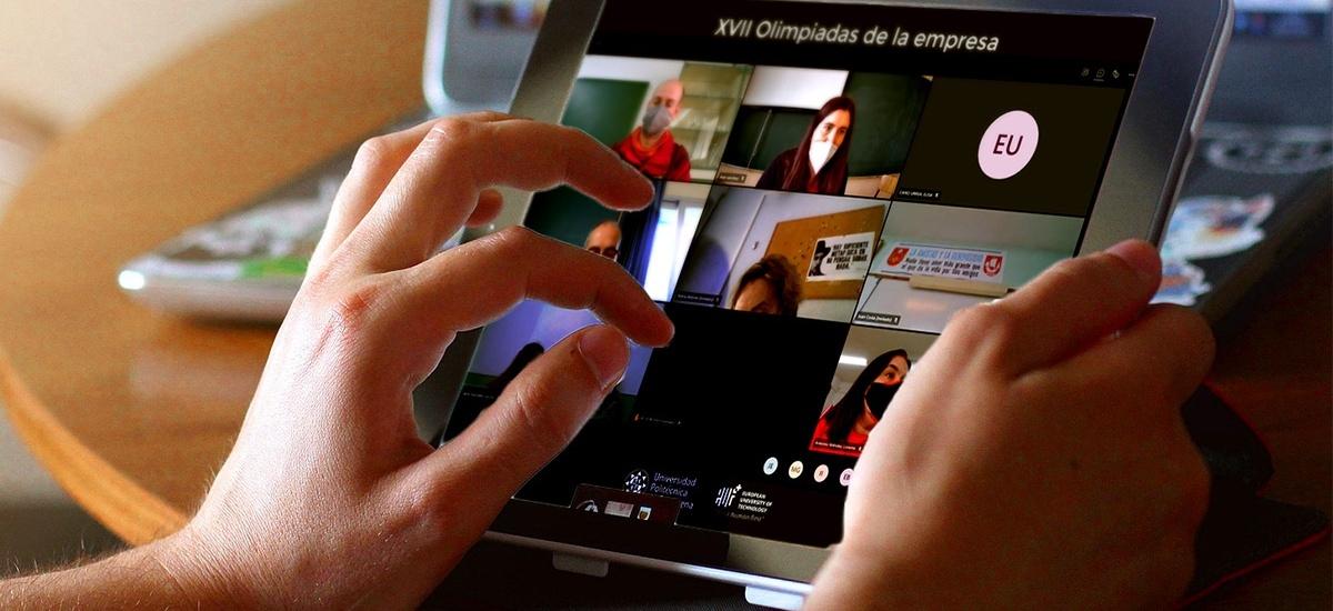 Noventa estudiantes de la Región compiten en la primera Olimpiada online de Empresa