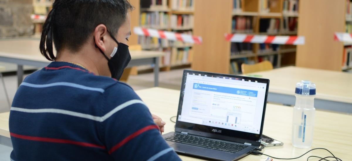 El CRAI Biblioteca de la Muralla abre de 8:30 a 14 horas los días 29, 30, 31, 5 y 6