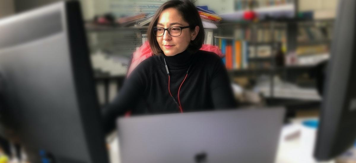 La ingeniera de Edificación Victoria Gómez vuelve a la UPCT como investigadora del Karlsruhe Institute of Technology