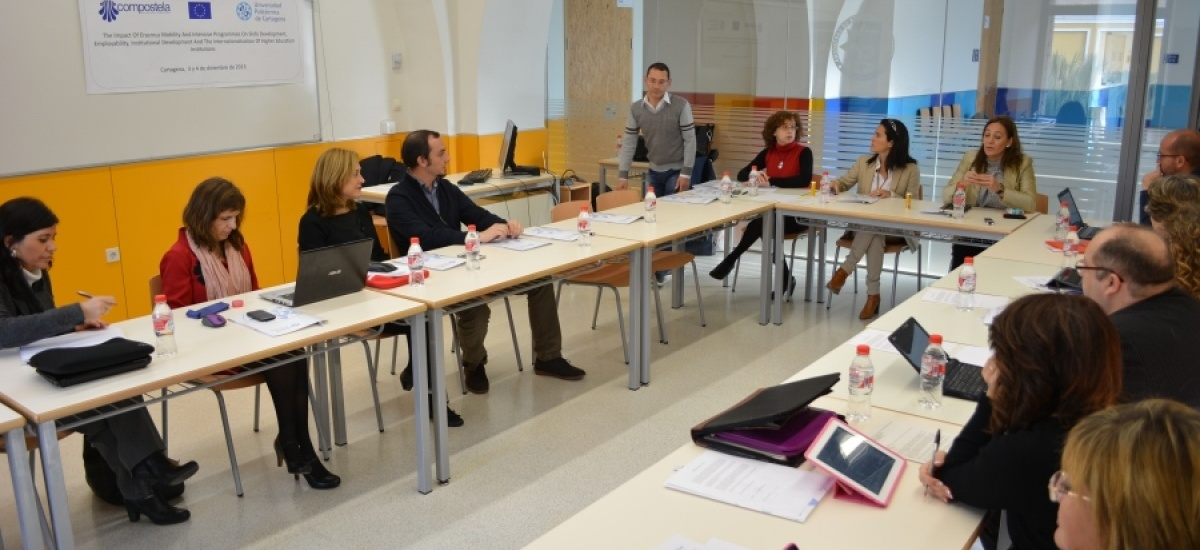 Convocadas 18 becas Erasmus+ para personal de la UPCT