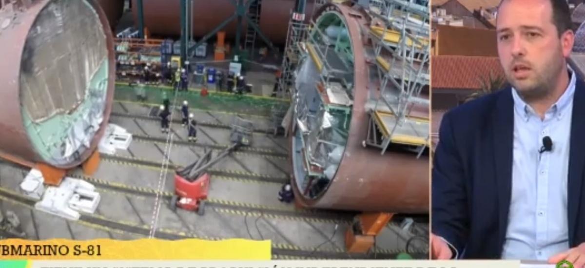 «La hélice no se muestra para que el sonido del submarino no sea reconocible»