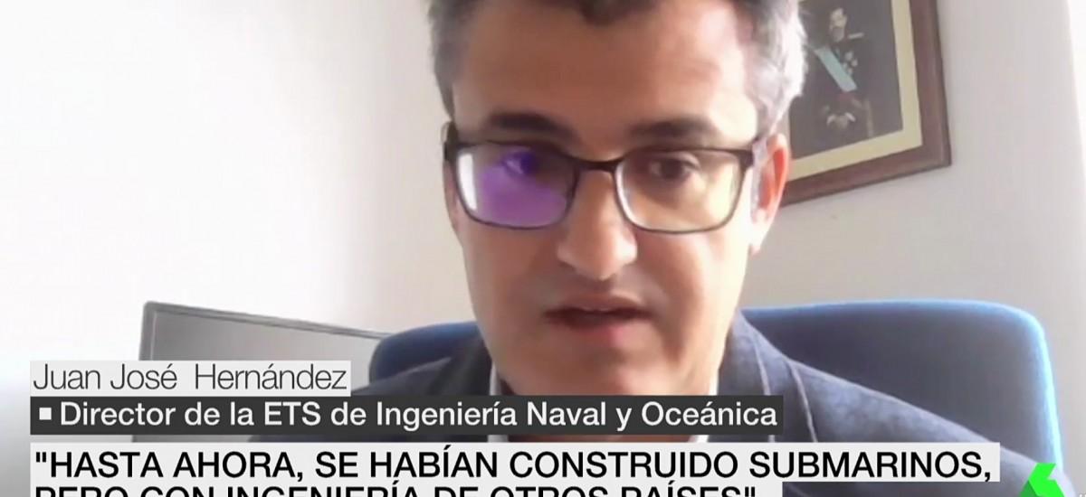 El director de Navales explica en La Sexta el hito que supone el S-81