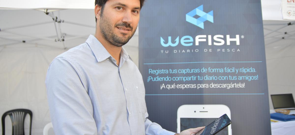 El fundador de WeFish, egresado de la UPCT, premio Emprendedor XXI de la Región de Murcia