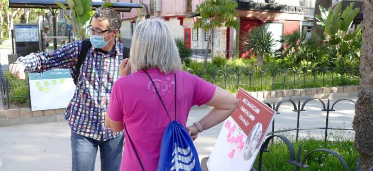 Recaban opiniones ciudadanas y de colectivos vecinales para reformar la plaza del Lago