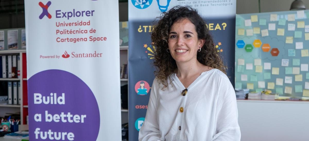 Imagen Entrevista a la ganadora de Explorer UPCT, en Radio Nacional