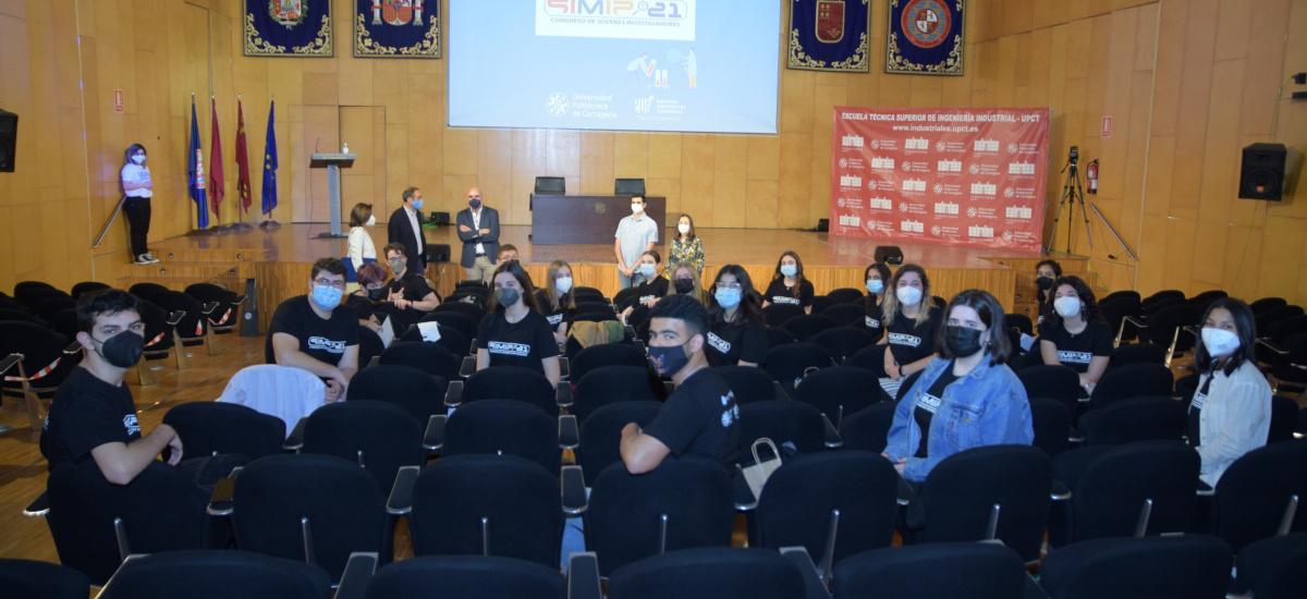 Segunda jornada del congreso SIMIP con investigadores de Bachillerato del IES Mediterráneo