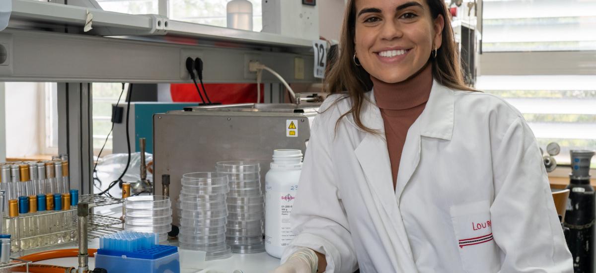 Lourdes Velasco: «No hay mayor secreto para conseguir buenas notas en Agrónomos que trabajo y constancia»