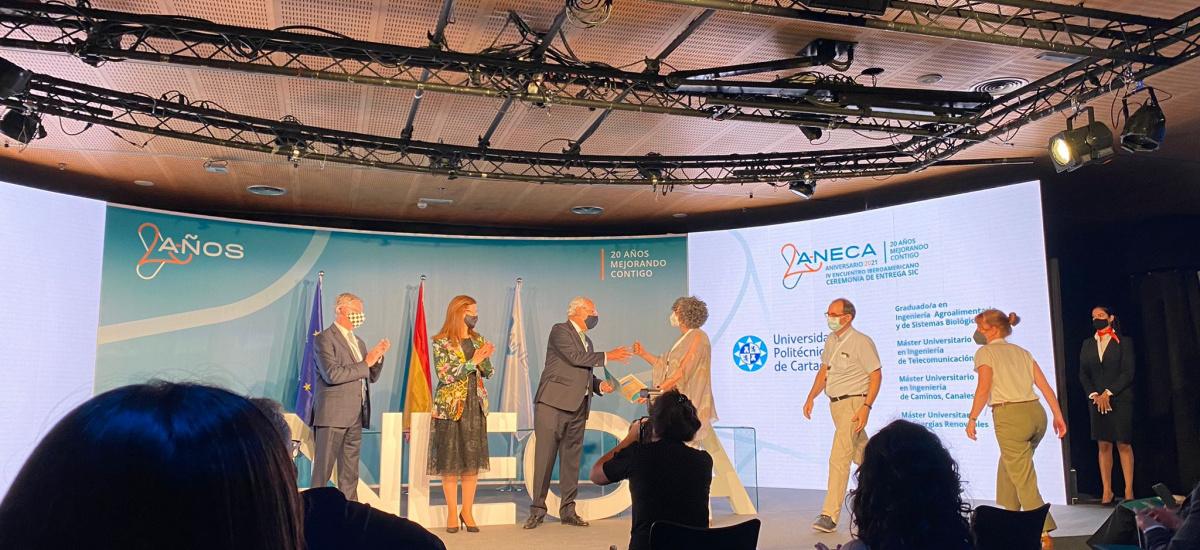 ANECA concede sellos internacionales de calidad a cuatro titulaciones de la UPCT