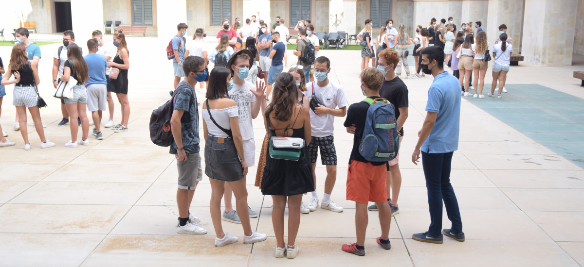La UPCT recibe a los primeros estudiantes de las universidades socias de EUt+