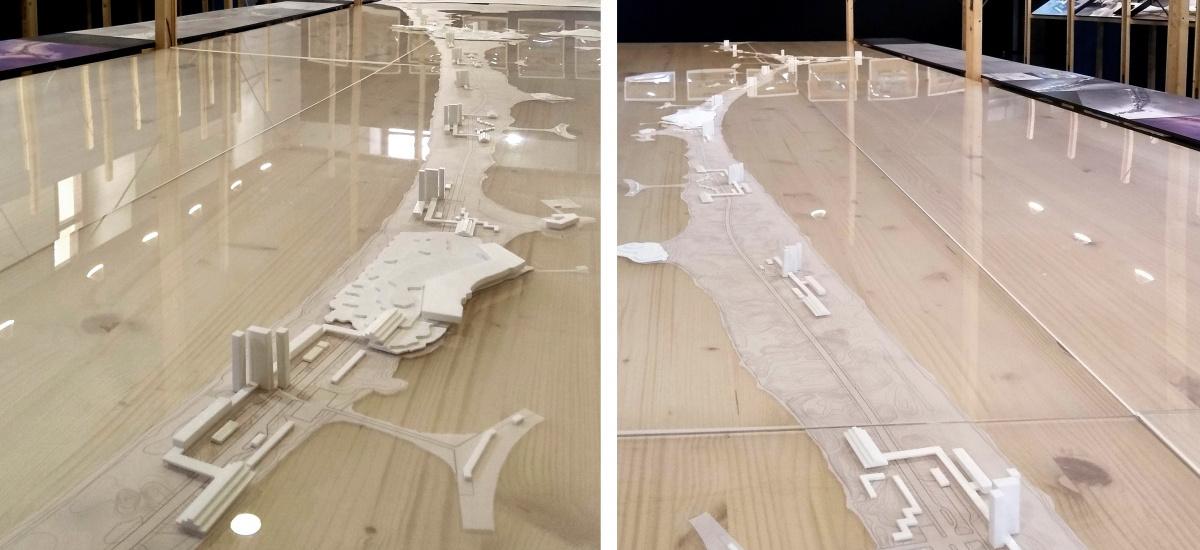 Cómo habría sido un urbanismo medioambientalmente respetuoso en La Manga: exposición en el Colegio de Arquitectos