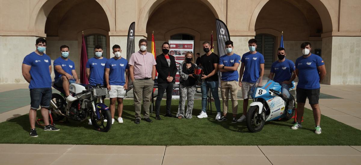 Shiro Helmets colabora con Moto UPCT en el desarrollo de su primer prototipo eléctrico de competición