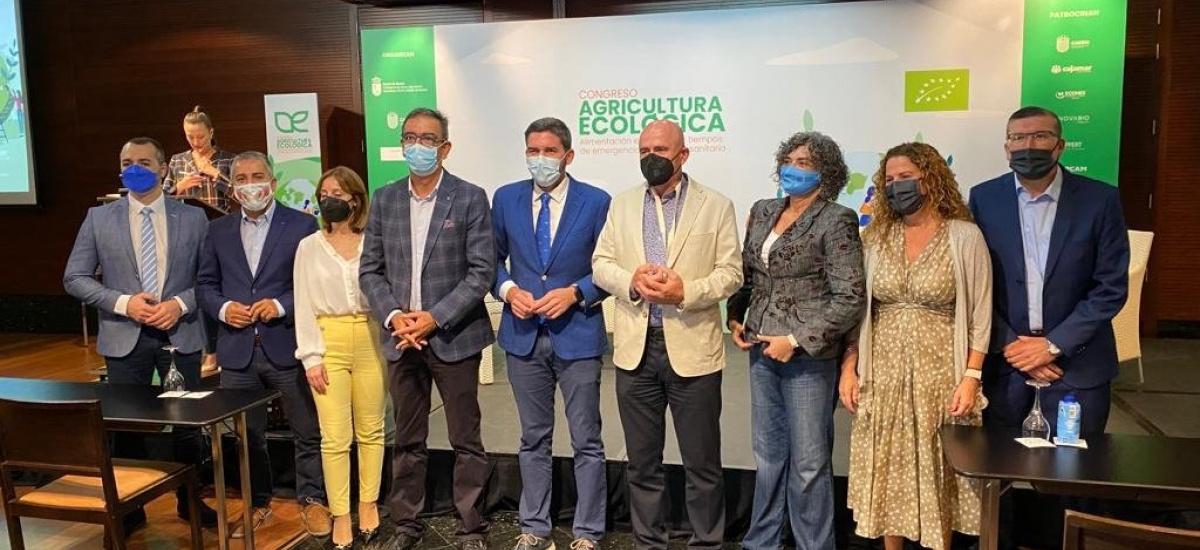 La rectora e investigadores agrónomos de la UPCT participan en el I Congreso Agricultura Ecológica