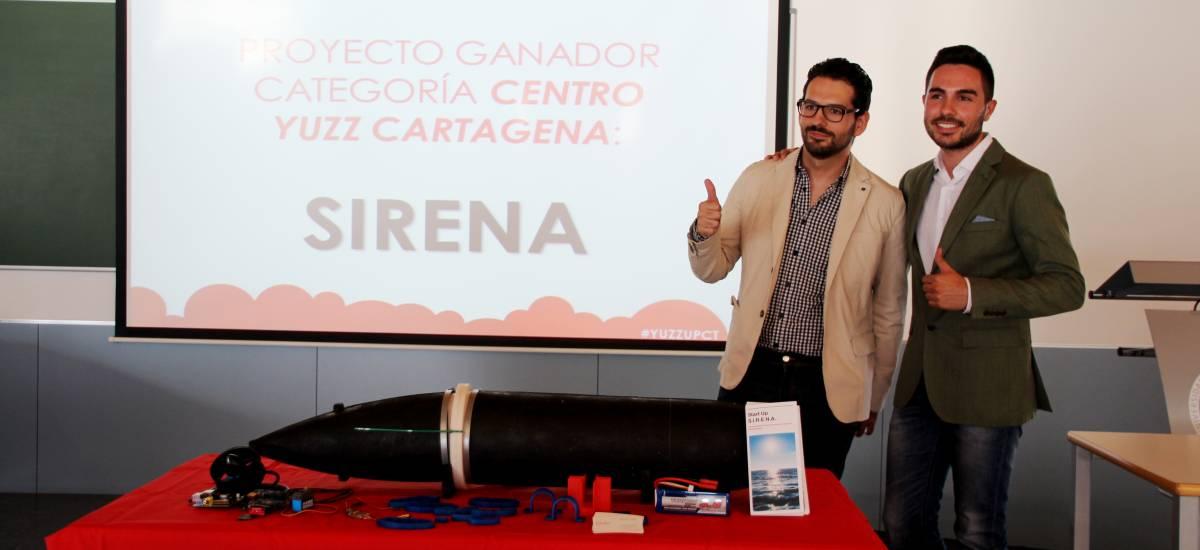 Foto: Alumnos de la UPCT que fabrican un submarino aut�nomo de inspecci�n portuaria explicar�n su proyecto en Silicon Valley