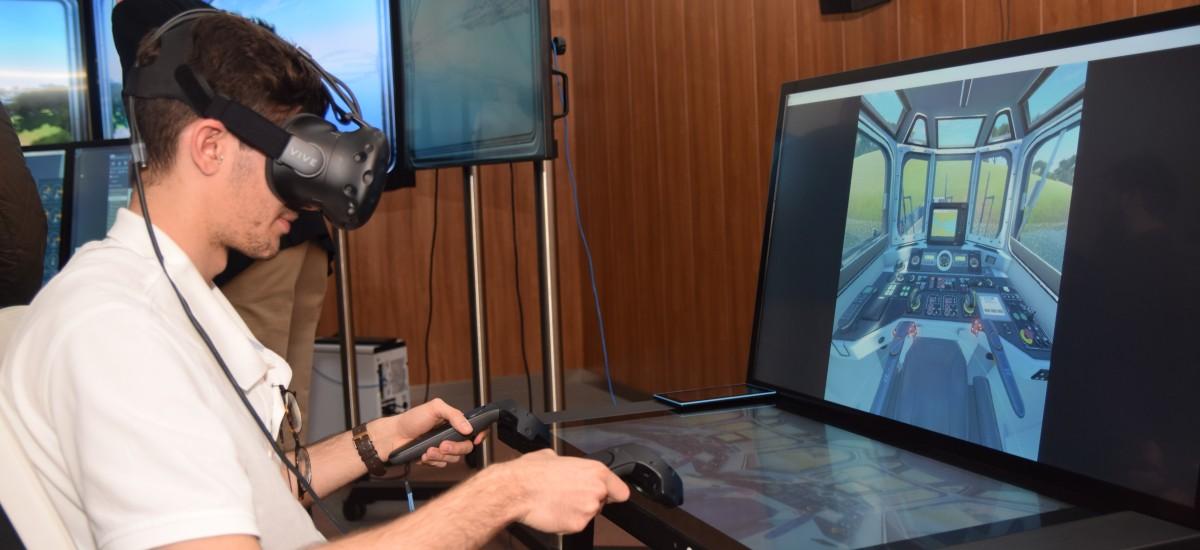 Foto: Navantia lleva al Campus Cátedra de la UPCT su aula de simulación para adiestrar tripulación de buques