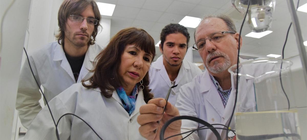 Foto: Calidad de cine para divulgar los músculos artificiales que desarrolla la UPCT emulando la biología