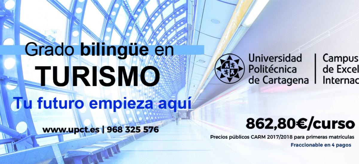Foto: La UPCT imparte el próximo curso el grado bilingüe en Turismo