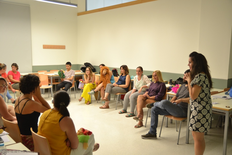 Un curso del Campus Internacional de Verano explica cómo usar técnicas teatrales para enseñar inglés
