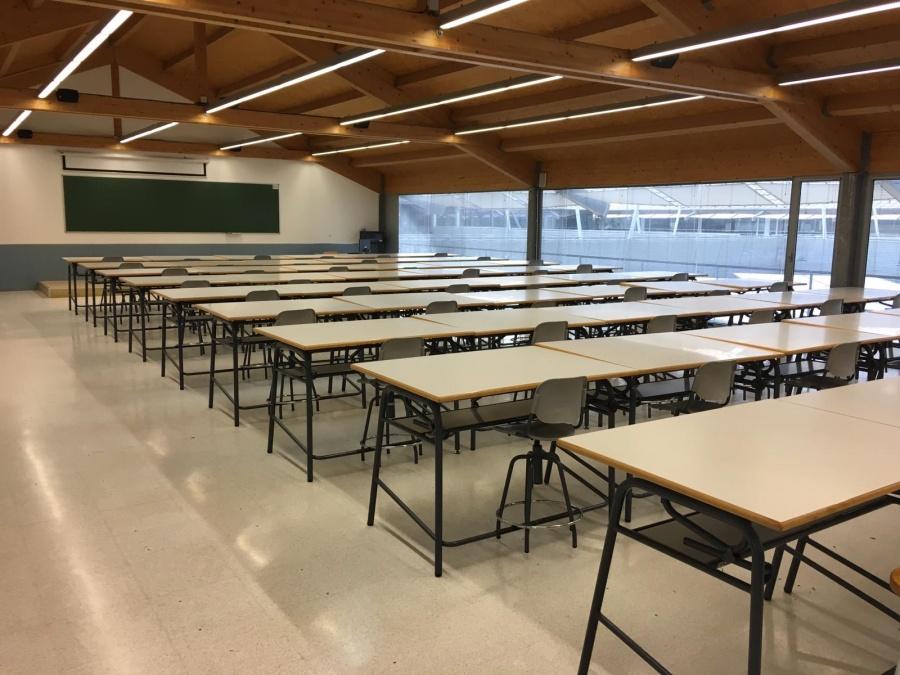 Aulas de Arquitectura y Edificación ya listas en la tercera planta del CIM