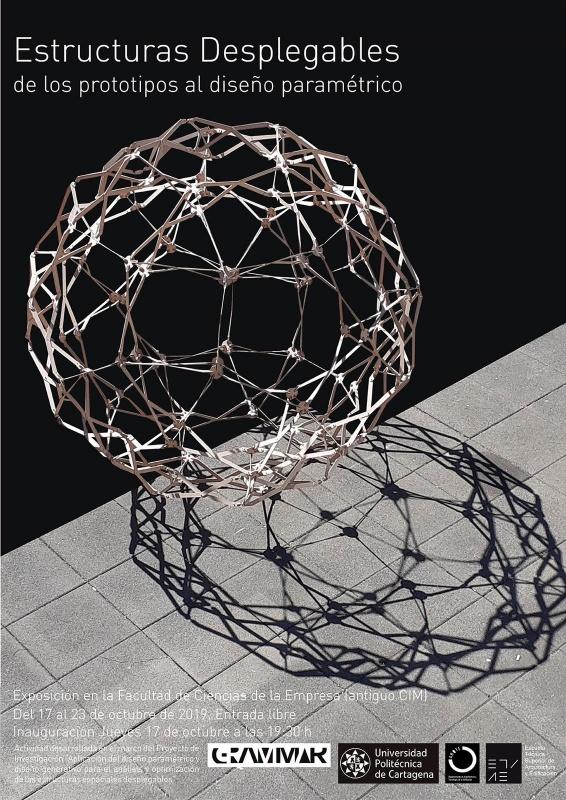 El CIM acogerá del 17 al 23 de octubre una exposición sobre estructuras desplegables