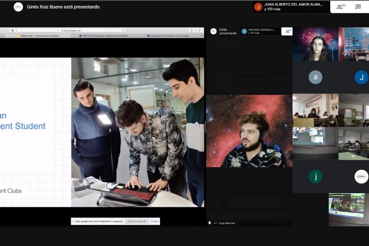 El Developer Student Club organiza talleres online de robótica y programación el 26 de noviembre para darse a conocer