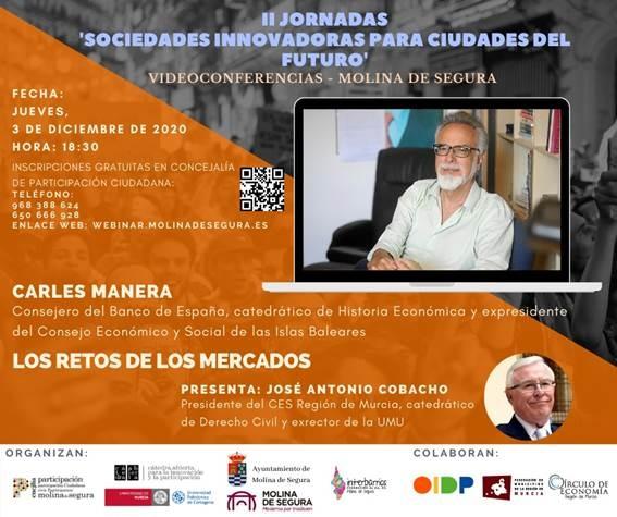 La Cátedra Abierta para la Innovación y la Participación organiza unas conferencias sobre sociedades innovadoras