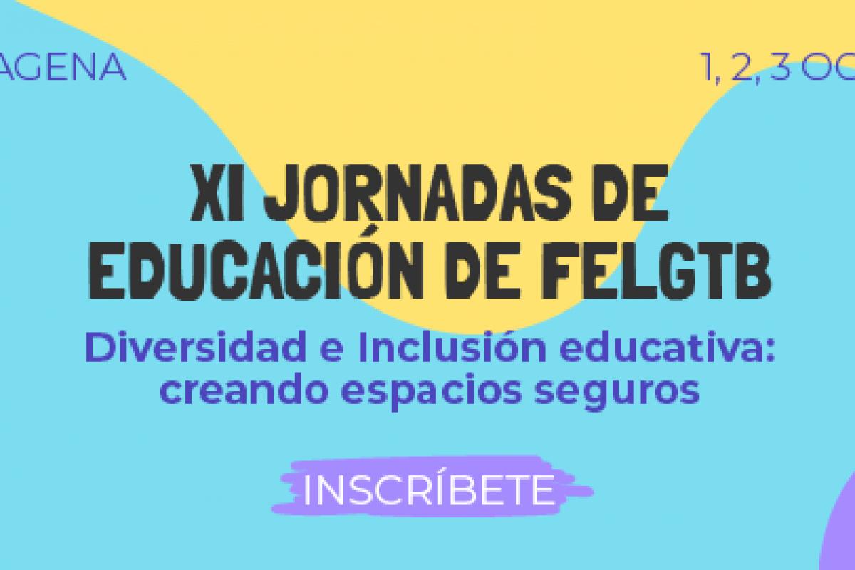 Las undécimas jornadas de Educación de la Federación Estatal LGTB se celebren en la UPCT