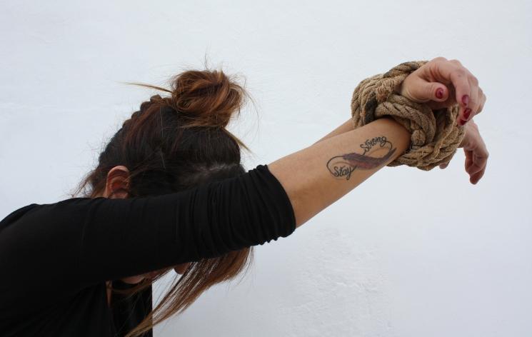 """Mantente fuerte"" Autor: Jose Manuel Martinez"