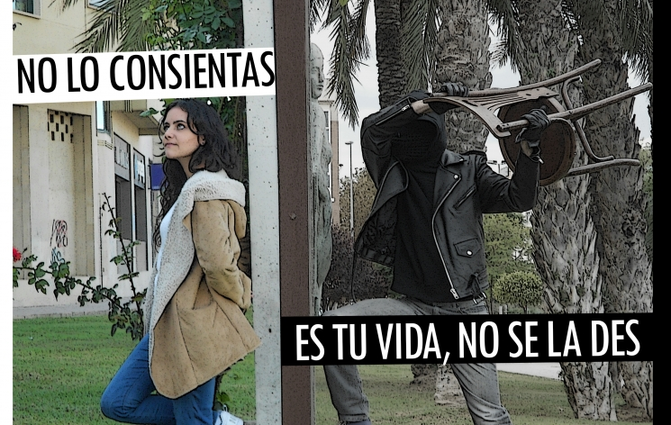 """""""Pon un muro, denuncia"""" Autor: Francisco J. Fernandez"""