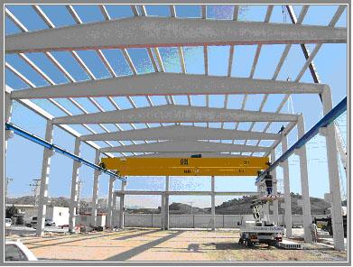 Proyectos fin de carrera en el departamento de estructuras y construcci n etsii - Naves industriales de diseno ...